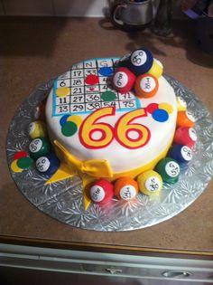 Bingo cake #2
