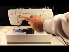 Singer Classic Heavy Duty Extended Beginners Tutorial by Kevin Sews, YouTube: This is a terrific tutorial with very clear and detailed demonstrations with good photography and straightforward narrative to get you up and running the basics very quickly as well as many useful tips for professional results. #Video #Sewing_Machine_Tutorial #Singer_Heavy_Duty