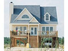 Eplans Low Country House Plan - Perfect for Family Getaways - 1650 Square Feet and 4 Bedrooms from Eplans - House Plan Code HWEPL04823