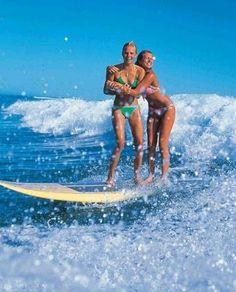 Tandem surf