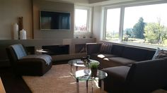 Family room : Staged by dmkstyle