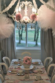 Oh and that picture was in my mind too...just pretty @Jessica Dezinski cute tea party table :)