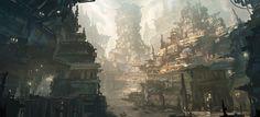 Painting a sci-fi City with Leon tukker Tutorial by TylerEdlinArt on DeviantArt