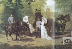 Elisabeth, Franz, Rudolf and Stephanie