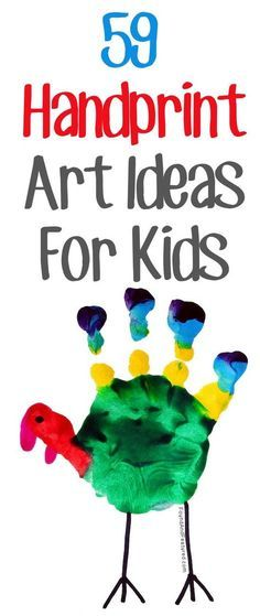 The CUTEST handprint crafts! (footprints, too)