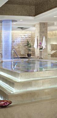 Mmm.. the spa at Caesars Palace.