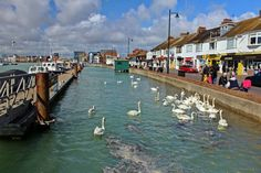 Littlehampton Harbour Park West Sussex England