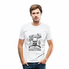 Lasergame is our Destiny Männer Slim Fit T-Shirt Hipster Tattoo, Hippie Style, Rockabilly, Hip Hop, Pullover Shirt, Rocker, Sport, Slim Fit, Destiny