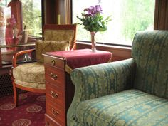 Lounge, Royal Canadian Pacific | by Train Chartering & Private Rail Cars