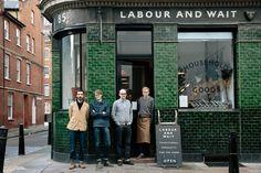 London: Labour and Wait shot by Flora Deborah