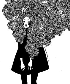 My hair is a mess by ~Nana-in-the-clouds on deviantART