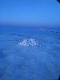 Airplane view, Washington Mount Rainier, Airplane View, Washington, Spaces, Mountains, Nature, Travel, Naturaleza, Viajes
