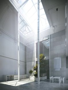 Theatre loft. Amazing natural light. Pierro Lissoni.