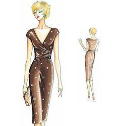 F2827 - Marfy Dress
