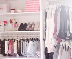 i want racks for all my clothe <3