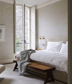 Cheap Home Decor bedroom inspo.Cheap Home Decor bedroom inspo Cozy Bedroom, Dream Bedroom, 1930s Bedroom, Peaceful Bedroom, Linen Bedroom, White Bedroom, Parisian Bedroom, Bedroom Windows, Large Bedroom