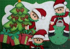 All Good Wishes Christmas Premade Scrapbook Pages w Paper Piecings Ssffdeb | eBay