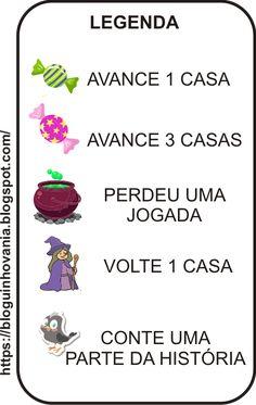 BLOGUINHO DA VÂNIA: JOGO DE Trilha: João e Maria