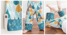 charley harper pj pants collage by craftiness is notoptional