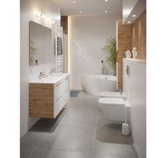 My Design, House Design, Leroy Merlin, Sweet Home, Bathtub, Loft, Mirror, Bathroom, Inspiration