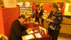 Book signing of  The Legacy Letters, by Carew Papritz at the Scholastic Book Fair in Tucson, AZ.  http://www.thelegacyletters.com/scholastic-book-fair-tucson-az-book-signing-legacy-letters-carew-papritz/  #tucson #booksigning #book #carewpapritz #thelegacyletters