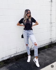 Nike Blazers Outfit, Cute Nike Outfits, Trendy Outfits, Popular Outfits, Summer Fashion Outfits, Mode Outfits, Nike Shoes, Sneakers Nike, Women Nike