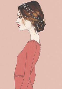 Fashion illustrator Pippa McManus, based in Perth, Western Australia