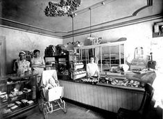 Bakery, 1900 http://www.shorpy.com/node/10337 Chava worked in a bakery probably similar to this one.