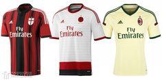 Maglia ufficiale Milan 2014-2015
