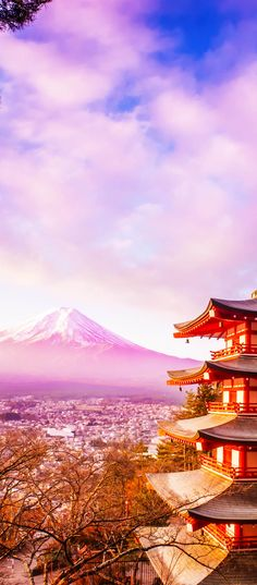 Mount Fuji at Kawakuchiko lake in Japan | Amazing Photography Of Cities and Famous Landmarks From Around The World  Ohhhh Japan!