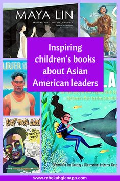Share stories of important Asian American and Pacific Islander leaders with these children's books. Click through for the full book list, including books that help kids understand the experiences of Asian American immigrant children. Kindergarten Books, Preschool Books, Montessori Toddler, Montessori Activities, Children's Books, Kid Books, Library Books, Third Grade Books, Service Projects For Kids
