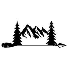mountains silhouette clip art clipart panda free clipart images rh pinterest com mountain goat silhouette clip art mountain goat silhouette clip art