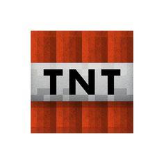 Minecraft TNT Clipart