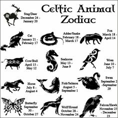 Celtic Zodiac - which are you?