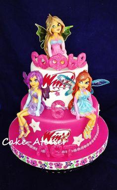 Winx cake - Cake by Ella