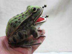 トノサマガエルのがま口の画像3枚目