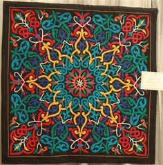 Egyptian tent maker quilts at AQS show - Quilters Club of America