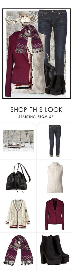 """""""Layers"""" by boho-at-heart ❤ liked on Polyvore featuring rag & bone, Chanel, Yigal AzrouÃ«l, Chicnova Fashion, Armani Jeans and ONLY"""