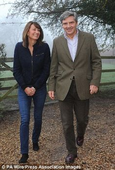 Carole and MIchael Middleton look set to miss out on a trip to Sandringham House this Christmas and a chance to spend the holiday with the Queen and Prince Philip.