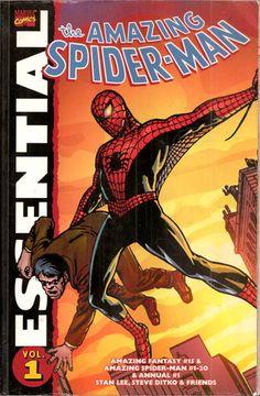 Essential Amazing Spider-Man, Vol. 1 (Marvel Essentials) (v. 1): Stan Lee, Steve Ditko, Jack Kirby: 9780785121923: Amazon.com: Books