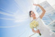 Just Married. Love. Love Is In The Air. Gorgeous. Bride. Wedding Photography Check out more of our work :) http://www.thememoryland.com/