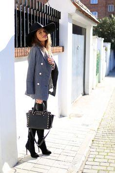 Fall hat, wool jackets