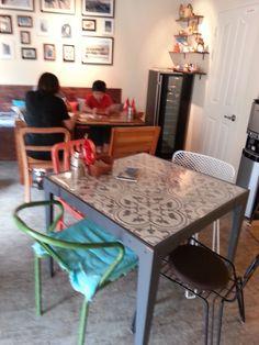 "Tunisian café"" Couscous""  at Seocheon in Seoul 06/29/14"