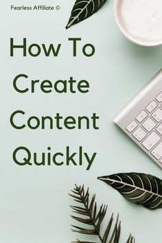 How To Create Content Quickly by Fearless Affiliate. If you need to set up systems to streamline content creation, then I have a solution for you! Or several. Create Content. How To Create Content. Content Marketing. Create Content for Your Blog. Batch Content. Tips for Creating Content. Create Content Ideas. How To Start Creating Content. Marketing. How To Batch Create Content. #createcontentquickly #howtocreatecontent #contentmarketing Sales Strategy, Content Marketing Strategy, Media Marketing, Online Marketing, Digital Marketing, Blogging Ideas, Blogging For Beginners, Make Money Blogging, Entrepreneur Motivation
