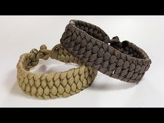 The Raspel Knot Paracord Bracelet design by SFS Weaver 6-Strand without buckle. - YouTube