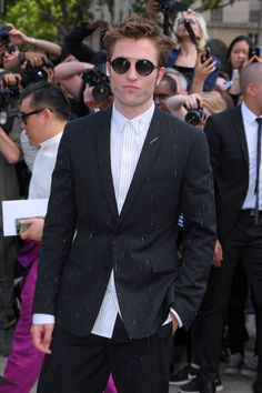 Rob at Dior show Paris July 3  Photo credit to owner