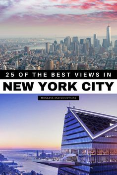 Travel to New York City and be inspired by the best views of the New York City skyline. Here are the BEST views in New York City plus how and where to get them. Start planning your New York City… More