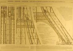 .: Torre Eifel :.    Los planos de construcción.