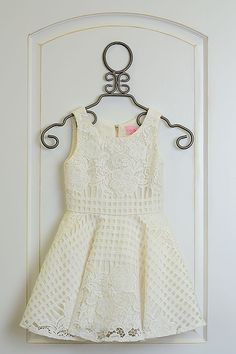 The Zoe LTD Ivory Lace Dress Gracie is the perfect dress for your little one for Easter. See this beautiful dress her today at LaBella Flora. Girls Special Occasion Dresses, Dress For You, White Lace, Beautiful Dresses, Lace Dress, Ivory, Rompers, Tops, Women