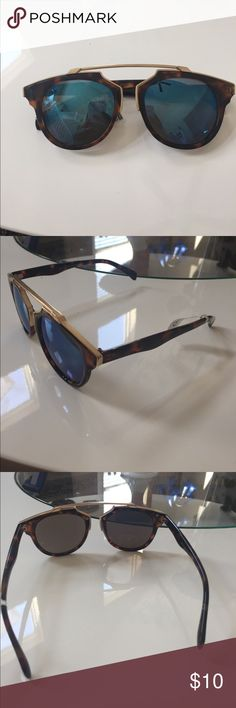 Brand new aldo sunglasses Dior look alike. Brand new no scratches with tag. NOT QUAY Quay Australia Accessories Sunglasses